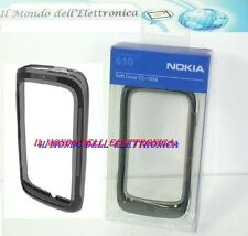 COVER CUSTODIA CORNICE BUMPER IN SILICONE CC-1039 BLACK ORIGINAL NOKIA LUMIA 610