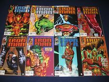 Iron Man Heroes Reborn 1-13 Complete Run & Variant #4 (1996-1997) Marvel Comics