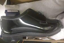 BRAND NEW! MENS BATES LITES BLACK HIGH GLOSS OXFORD E00942 Uniform Shoe Sz 13 E