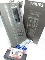 Philips Pocket Memo 390 MiniCassette Voice Recorder Dictaphone Dictation LFH0390