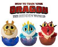 "HOW TO TRAIN YOUR DRAGON SOFT EGG PLUSH 3"" DREAMWORKS HIDDEN WORLD DRAGONS EGGS"