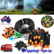 New 25M DIY Micro Drip Irrigation System Auto Plant Watering Garden Hose Kits