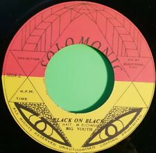 SOLOMONIC .BLACK ON BLACK / LIFE LINE .BIG YOUTH .BUNNY WAILER 45