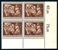 DR Nazi 3rd Reich Rare WW2 Stamp Hitler Swastika Flag Fuhrer Uniform Eagle Sword