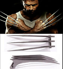 WOLVE2PCS X-Men Wolverine Logan ABS Claws Blade Cosplay Props New Version Adjust