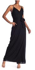 PAIGE Regina Maxi Dress, Black, Size Small, NWT
