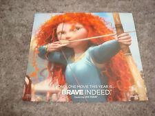 BRAVE Oscar ad Merida with bow & arrow, Pixar & PARANORMAN, Best Animated Film