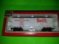 VINTAGE LIFE LIKE HO SWIFT REFRIGERATOR LINE #8534 REEFER TRAIN CAR NEW IN BOX