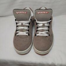 Vintage 90's Style Vans influenster Tan Skateboard Shoes Size 10