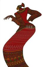 Lady in Red Limited Edition 2000 By Charles Bibbs