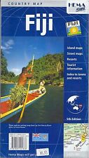 Map of Fiji, by HEMA Maps, 2005 Edition