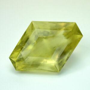 HUGE GEM 179 carat Exceptional Faceted LIBYAN DESERT GLASS Fine Kite CERTIFICATE