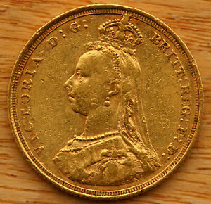 Victoria (1837-1901) 1888s, Sovereign, straight `JEB`, less than 15 known