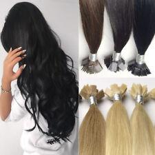 Remy Echthaar Extensions Bondings 45cm Haarverlängerung 7+ Monate Haltbar