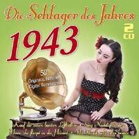 ZARAH LEANDER/HORST WINTER/DORIT ALT/+ - DIE SCHLAGER DES JAHRES 1943 2 CD NEU