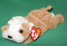 TY Beanie Baby Wrinkles the Bulldog Puppy Dog 4103 MWMT Birthday May 1 1996