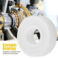 10x26x8mm White ZrO2 Full Ceramic Miniature 6000-2RS Ball Bearing Convenient
