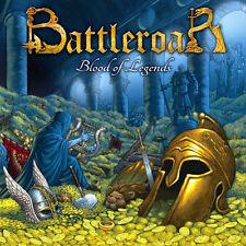 Battleroar - Blood of Legends CD 2014 digi epic power metal Greece Cruz del Sur