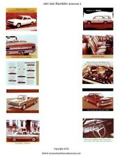 1967 AMC Dealer All American Showroom Posters - G Scale