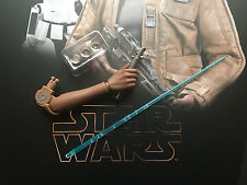 Hot Toys Star Wars Force Awakens FN-2187 Finn LED Lightsaber Arm 1/6th scale