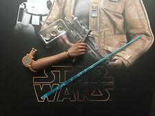 Hot Toys star wars force réveille FN-2187 finn led sabre laser bras échelle 1/6th