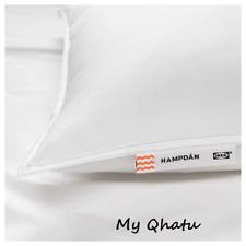 """IKEA HAMPDAN Pillow Softer, King  20"""" x 36"""" White NEW"""