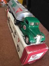 ERTL 1937 Ford Conoco Nth Motor Oil Tanker Truck Limited Edition Coin Bank Promo