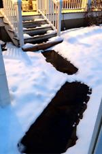 """HeatTrak Residential Snow-Melting Stair Mat Set of 3 mats 10"""" x 30"""" w/power unit"""