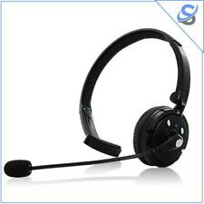 Bluetooth Headset With Boom Mic - 18 Hours Talk Time Dual-phone Connection