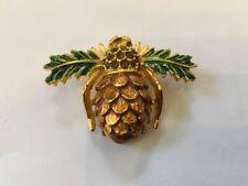Joan Rivers Pinecone Bee Pin