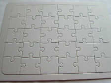Blank Jigsaw Puzzle 15x21.5cm Decorate Yourself 30pces.