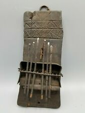 New listing Pende Or Chokwe Lamellophone Sanza Thumb Piano 6 Notes Dr Congo African Music