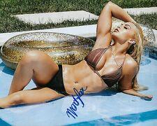 GFA Sexy WWE Wrestlemania Star * MANDY ROSE * Signed 8x10 Photo COA