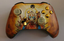 Custom Xbox One Controller 'Borderlands 3 Super Deluxe' w/ gold buttons  (Matte)