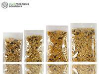 Transparent Sachet Pouch with ziplock Heat Seal Food Grade