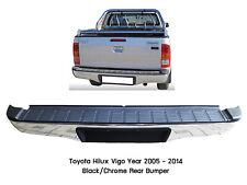 Chrome Rear Step Bumper Bar Assembly For Toyota Hilux Vigo Pickup MK6 MK7 05-14