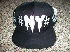 BEEN TRILL New NWT Mens Snapback Adjustable Black NY MALL RATZ Writing Hat Cap