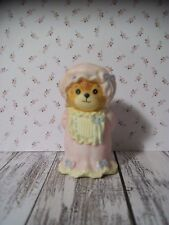 Enesco Lucy Rigg Bears, Lucy & Me, Teddy Bear, Pink Nightgown, Cap