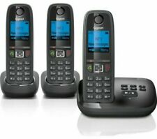BRAND NEW GIGASET AL415A CORDLESS PHONE WITH ANSWERING MACHINE -TRIPLE HANDSETS
