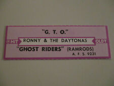 Ramrods - Ghost Riders In the Sky              Classics  Jukebox Strip