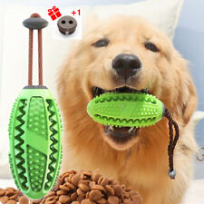 Dog Toothbrush Chew Toy Stick for Pets Small Large Breed Rubber Treat Dispenser