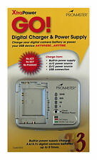 Promaster XtraPower Go! 3 Battery Charger & Power Supply