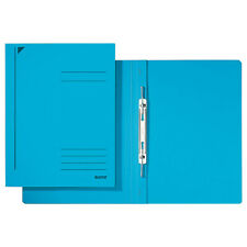 #25xleitz Spiralhefter DIN A4 Colorspankarton blau