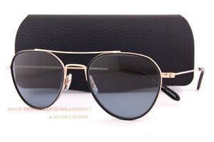 Brand New Authentic Garrett Leight Sunglasses CULVER G Gold 56mm Frame