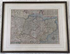 Antique Map of Kent - Published in 1610