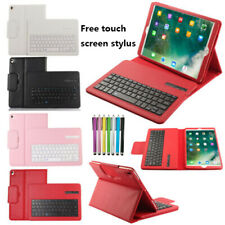 """For iPad 10.5 """" Wireless Bluetooth Keyboard Folio Leather Case Smart Stand Cover"""