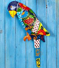 Parrot Wall Art Design Tropical Beach Home Nautical Bathroom Sunroom Fence Decor