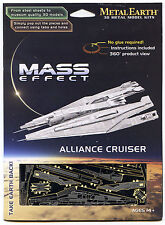 Metal Earth Mass Effect ALLIANCE CRUISER 3D Puzzle Micro Model