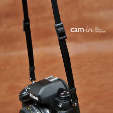 Brown Leather DSLR Camera Strap w/ tapered ends - Cam-in - CAM3575 UK Stock