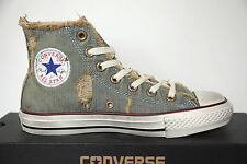 Neu All Star Converse Chucks hi 123145 Denim Light blue Schuhe Sneaker High Top